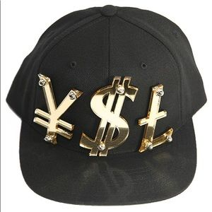 Accessories - 'YSL' (Yen Dollar Sign Pound) SnapBack Cap